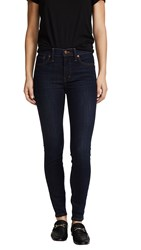Madewell High Rise Skinny Jeans Larkspur