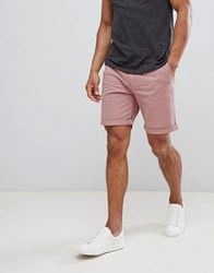 Selected Homme Chino Short Red