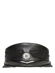 Ktz 3D Faux Leather Visor