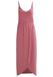 Superdry Azur Jersey Dress Ice Marl Cerise Red