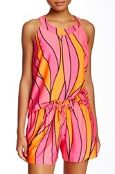 Julie Brown Sleeveless Tank Pink