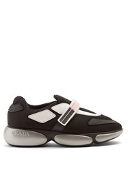 Cloudbust Logo-print Rubber And Leather-trimmed Mesh Sneakers - Black Prada Clearance Wholesale Price For Cheap Cheap Online Cheap Sale New Arrival Footlocker Pictures Sale Online nZQVVGdZ