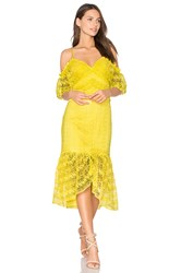 Three Floor Starry Eyed Dress Yellow