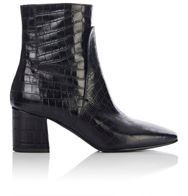 Givenchy Women's Side Zip Ankle Boots Colorless