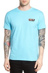 Obey Men's Wall Creep Graphic T Shirt