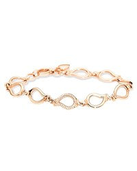 Tamara Comolli Signature 18K Rose Gold Small Diamond Chain Bracelet