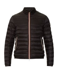 Moncler Daniel Down Filled Quilted Jacket Black