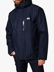 Helly Hansen Squamish Cis 'S Waterproof Jacket Navy