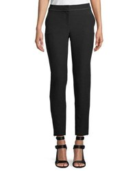 Laundry By Shelli Segal Stretch Crepe Skinny Pants Black