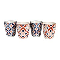 Pols Potten Cups Set Of 4 Petal