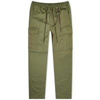 Mastermind World Embroidered Skull Cargo Pant Green