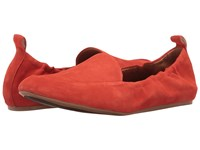 Franco Sarto Stacey Tangerine Lux Brushed Suede Women's Slip On Shoes Brown