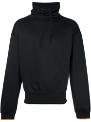 Maison Martin Margiela Funnel Neck Sweatshirt Black