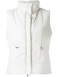 Eleventy Buttoned Vest Nude And Neutrals