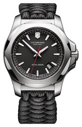 Victorinox Swiss Army 'I.N.O.X.' Paracord Strap Watch 43Mm
