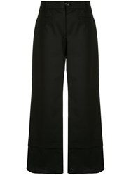 Goen.J Trimmed Cropped Trousers 60