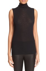 Rag And Bone Women's 'Briony' Sleeveless Turtleneck Top Black