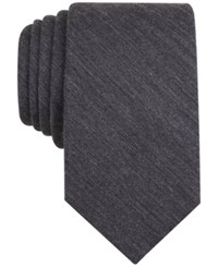 Bar Iii Carnaby Collection Badger Solid Skinny Tie Only At Macy's Charcoal
