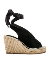 Seychelles Interrelated Wedge Black