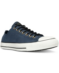 Converse Men's Chuck Taylor All Star Lo Corduroy Casual Sneakers From Finish Line Obsidian Egret Black