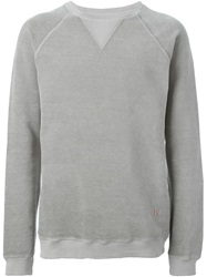 People People Round Neck Sweatshirt Grey