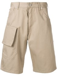 Jacquemus Slim Fit Tailored Shorts Brown