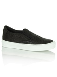 Daniel Chorizio Slip On Pump Black Croc