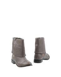 Silvian Heach Ankle Boots Dove Grey