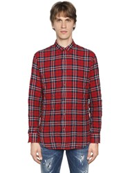 Dsquared Plaid Cotton Shirt