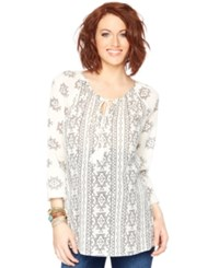 Wendy Bellissimo Maternity Embroidered Blouse