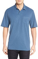O'neill Men's Jack Monsoon Slub Pique Polo Dark Blue