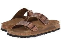 Birkenstock Arizona By Birki Tie Dye Brown Textile Men's Sandals