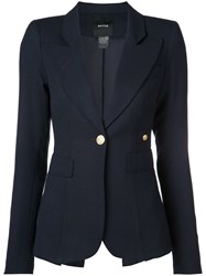 Smythe Single Breasted Blazer Blue