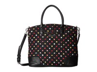Vera Bradley Day Off Satchel Havana Dots Satchel Handbags Black