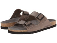 Mephisto Nerio Pewter Scratch Men's Sandals Brown