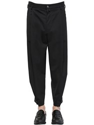 Dolce And Gabbana 17Cm Stretch Wool Toile Trousers
