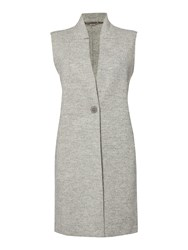 Marella Dandy Sleeveless Gilet Grey