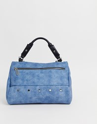 Juicy Couture Soft Weekend Holdall Bag Blue