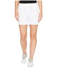 Puma Solid Shorts 5 Bright White Women's Shorts