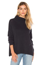 Charli Roxanne Mock Neck Sweater Black