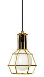 Design House Work Lamp Gold
