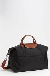Longchamp 'Le Pliage' Expandable Travel Bag Black 21 Inch
