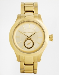 Karl Lagerfeld Chain Gold Watch Kl1217
