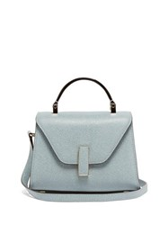 Valextra Iside Micro Grained Leather Bag Polvere