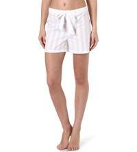 Bodas Cotton Pyjama Shorts White