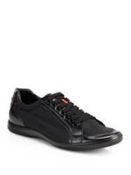 Prada Nylon Laced Sneakers