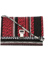 Proenza Schouler Woven Small Lunch Bag Red
