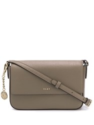 Dkny Medium Bryant Crossbody Bag Brown