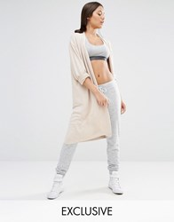 Nocozo Summer Longline Cardigan Taupe Beige