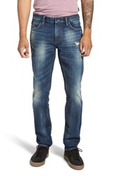 John Varvatos Star Usa Bowery Slim Fit Jeans Blue Stone